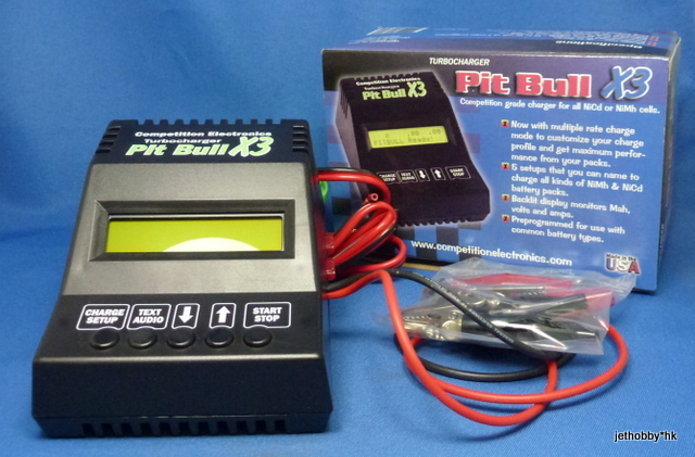 Competition Electronics CEI4310 - Pit Bull X3 (Competition Grade Battery Charger, NiCd NiMh)