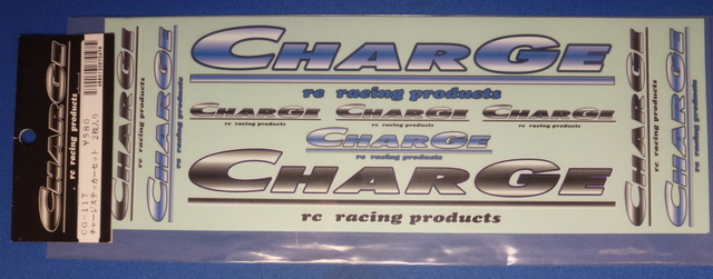 Charge CG-117 - Charge Logo Decal