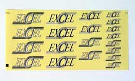 Excel EA009 - Excel Decal