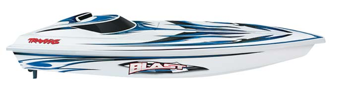 Traxxas 3810 - Blast RTR (Deep-V EP Boat)