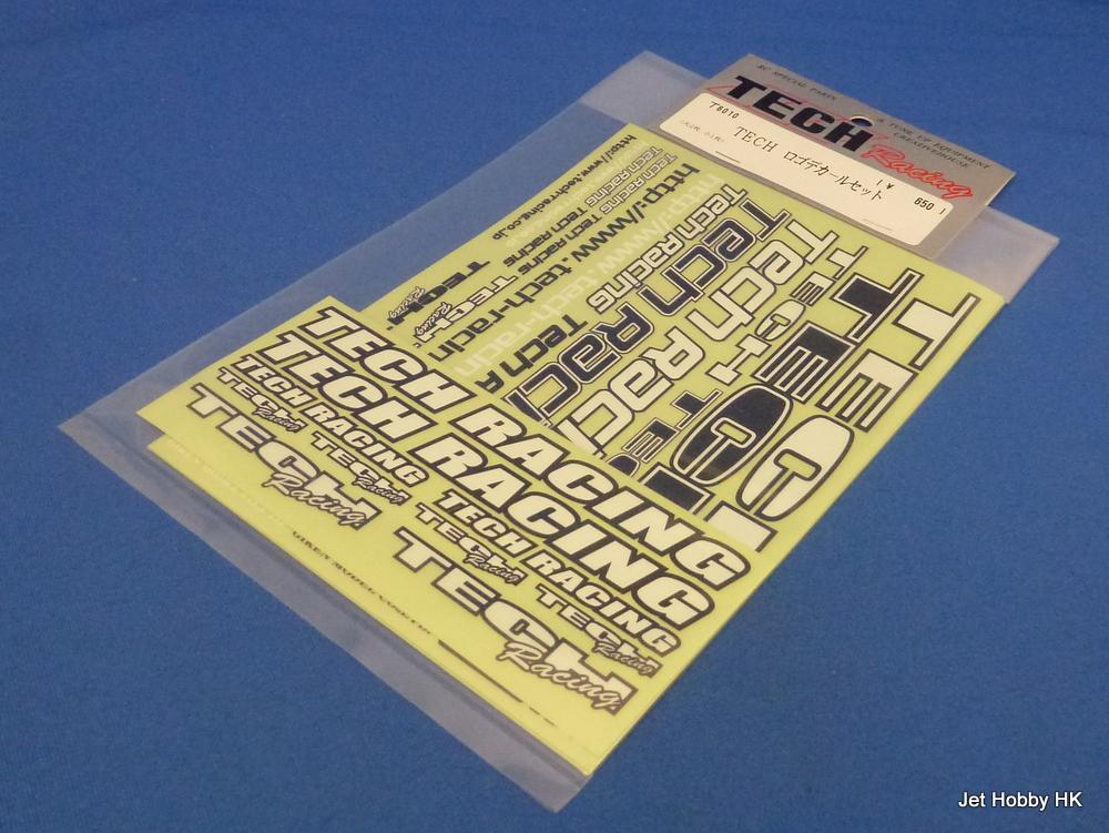 Tech Racing T6010 - Tech Racing Decal 12.8x18cm-2pcs 6x14cm-1pc