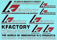 K-Factory K3001 - K-Factory Decal Sheet 10.2x14.4cm