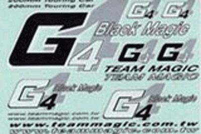Team Magic 118004 - G4 Sticker (145x10mm)