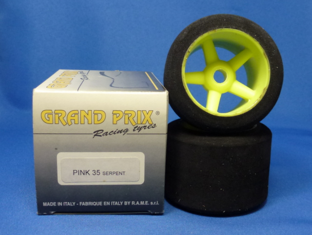 Grand Prix 5510.35.01 - Glued Rear Tire Set 35°(Serpent 1-10)