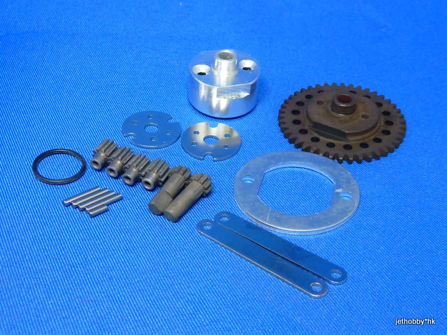 Mana LJ-002 - Center Gear Diff & Brake Disc (Kyosho GP10)