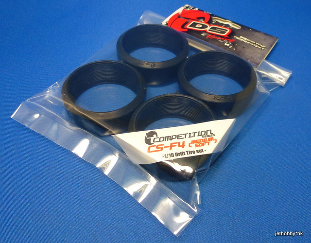 DS CS-F4 - Competition Drift Tires, Medium Soft