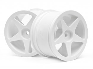 HPI 100868 - Ultra 5 Wheel White 2.2in 60x38mm (Cyber 10B / Rear)
