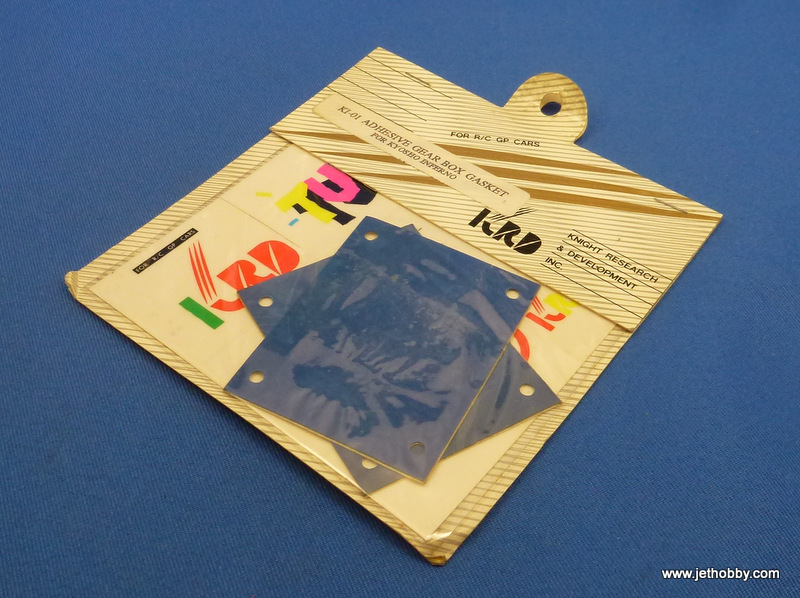 KRD KI-01 - Adhesive Gear Box Gasket (Kyosho Inferno)