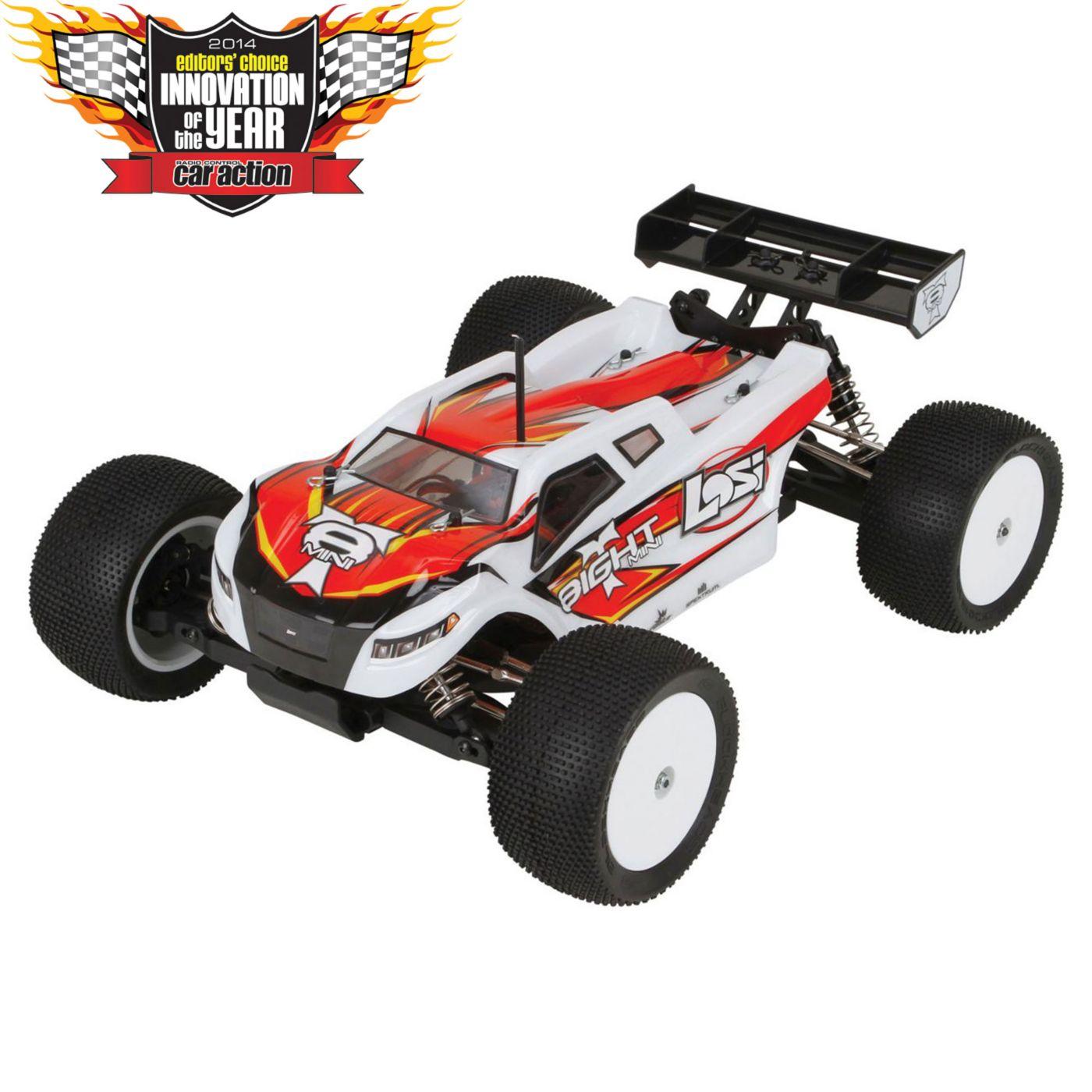 Team Losi Racing 1//14 Mini 8IGHT RTR 4WD Chassis Brace Carbon Fiber LOSB1875