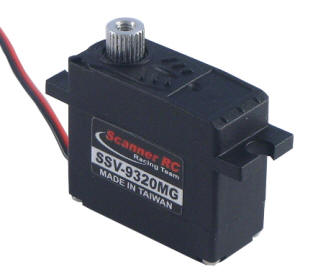Scanner SSV-9320MG - 20g Micro Servo Metal Gear