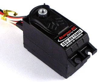 Scanner SSV-9610MG -  Low Profile Servo, High Torque