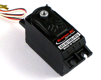 Scanner SSV-9610MG+RTG -  Low Profile Servo, High Torque, Retract Gear