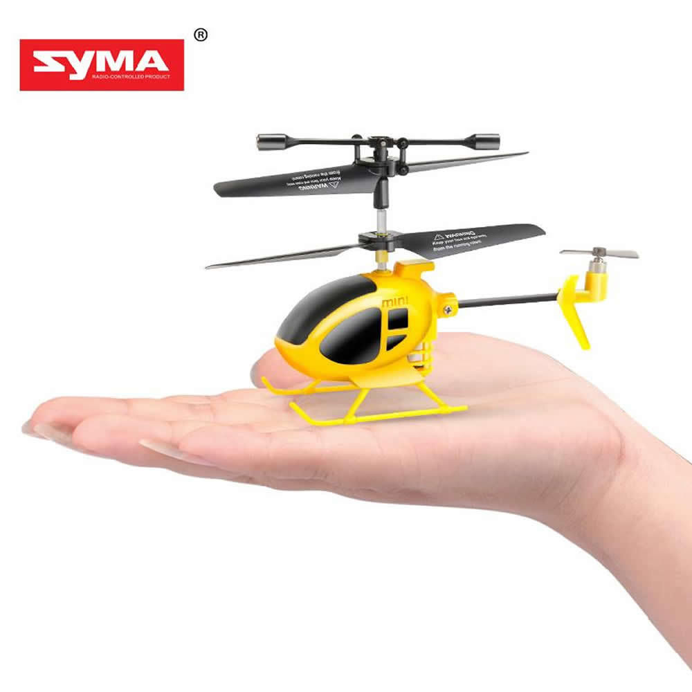 Syma S6Y - Nano Size Infrared 3-Channel Helicopter, Yellow