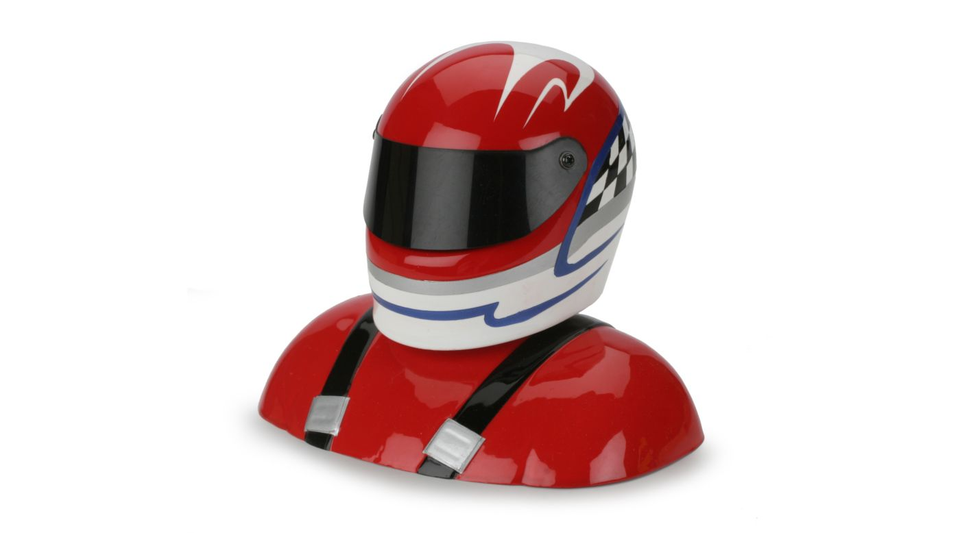 Hanger HAN368 - 25-28% Painted Pilot Helmet Red/White/Blue