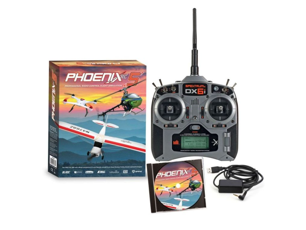 Run Times Game RTM50R6630 - Phoenix R/C Pro Simulator V5.0 with DX6i