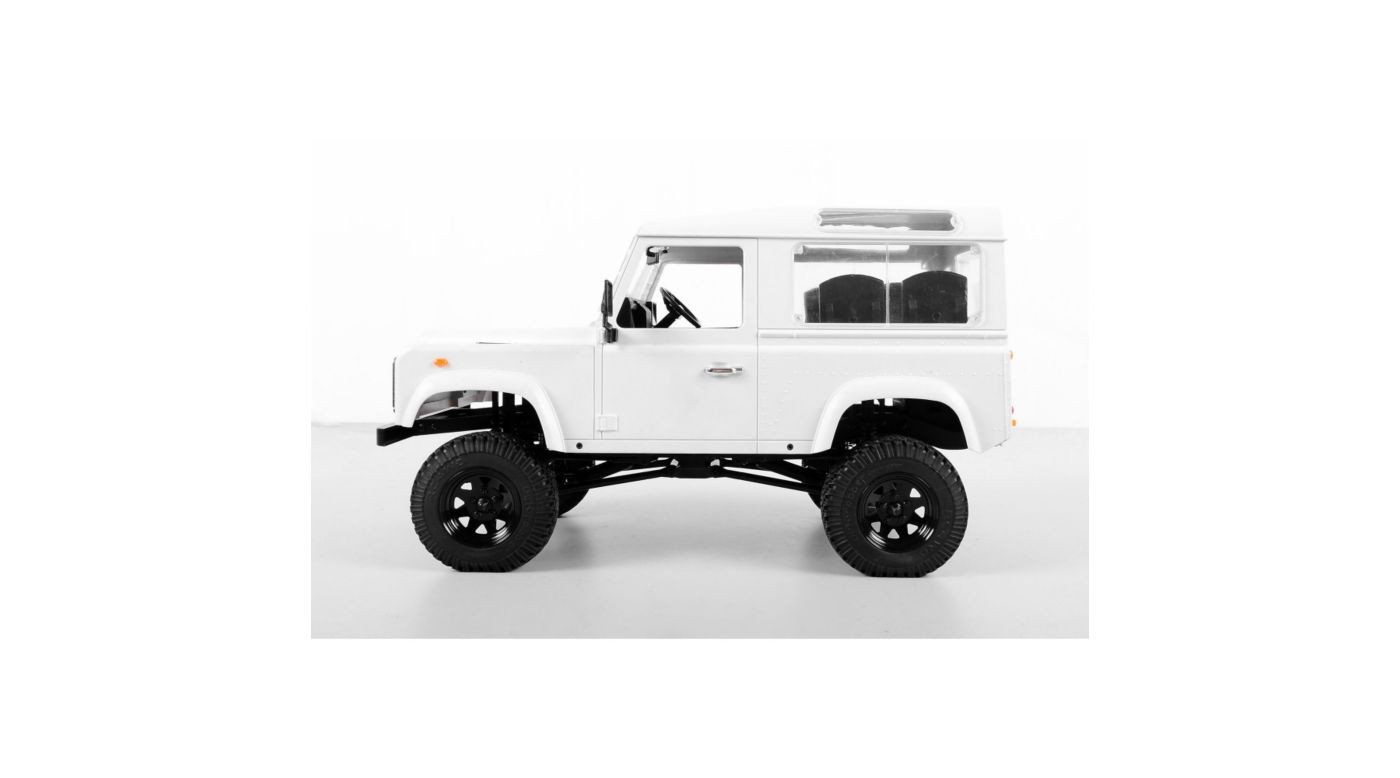 RC4WD ZK0001 - 1/10 Gelande II Truck Kit with Defender D90 2Dr Body Set