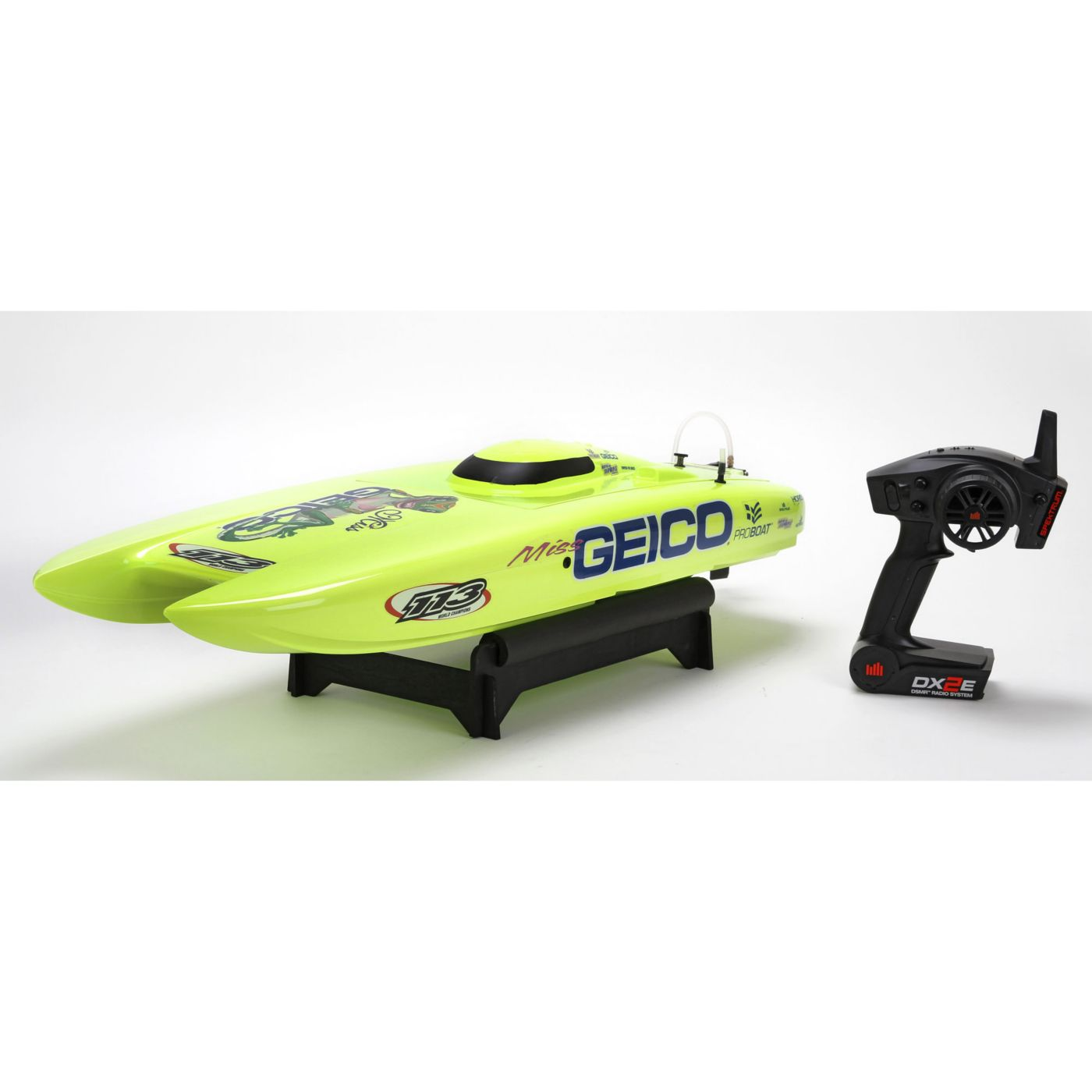 ProBoat PRB08009 - Miss Geico 29-inch Catamaran V3 Brushless