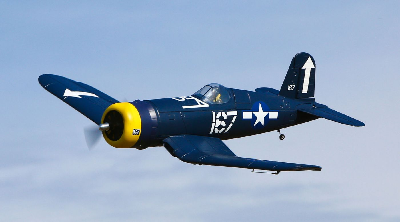 HobbyZone HBZ8200 - F4U Corsair S RTF with SAFE