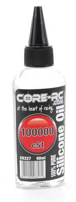 Core CR227 - CORE RC Silicone Oil - 100000cSt - 60ml