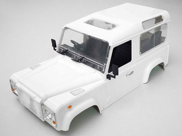 RC4WD Z-B0008 - 1/10 Land Rover Defender D90 Hard Plastic Body Kit