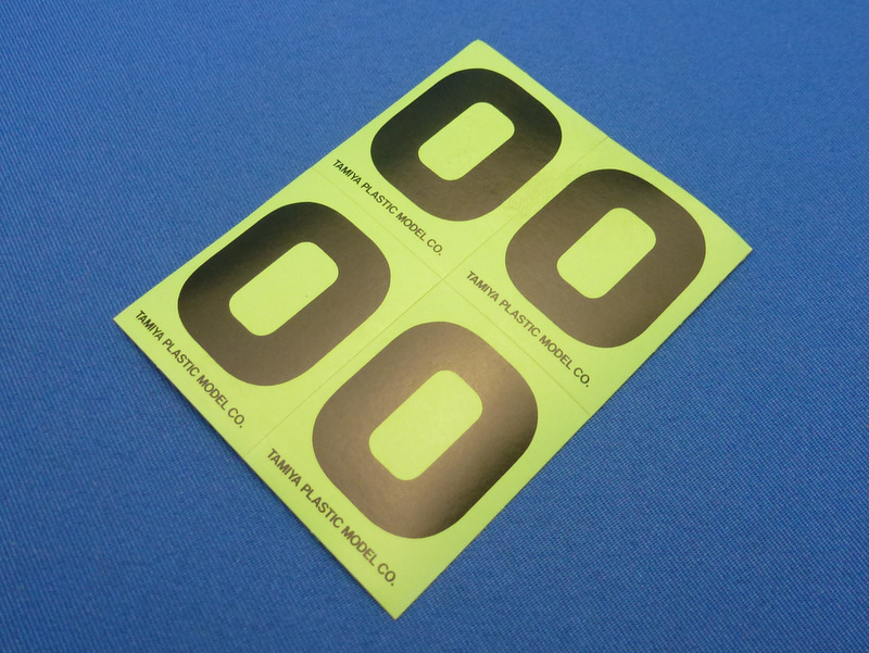 Tamiya 66540 - Number Sticker #0