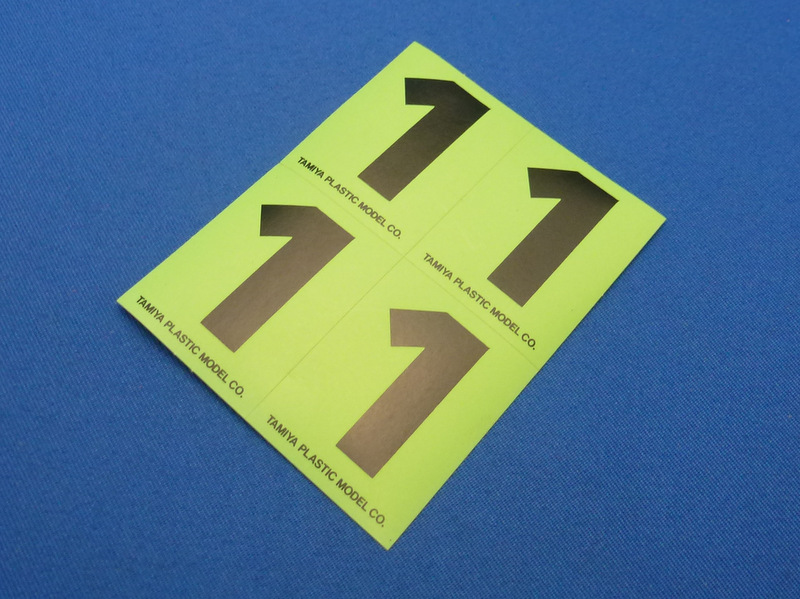 Tamiya 66541 - Number Sticker #1