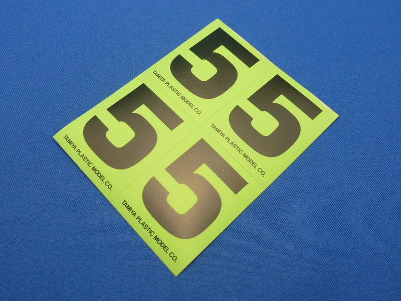 Tamiya 66545 - Number Sticker #5