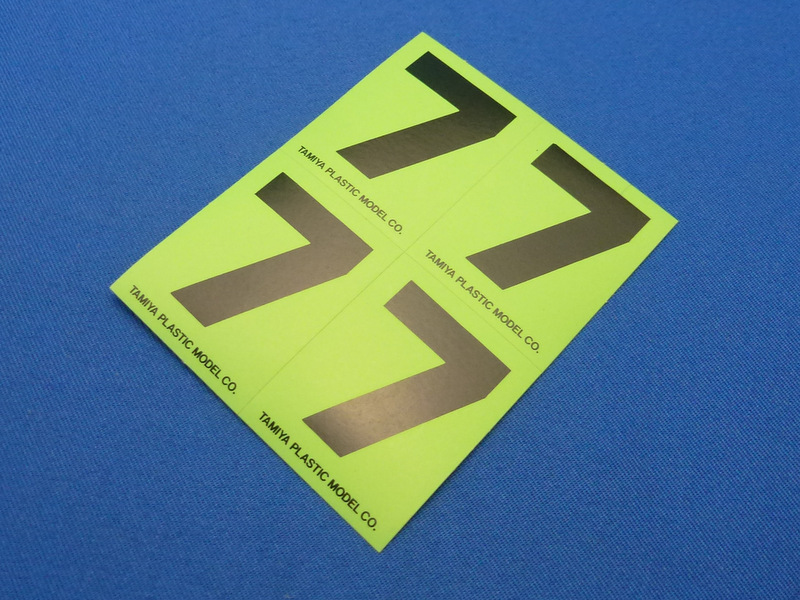 Tamiya 66547 - Number Sticker #7