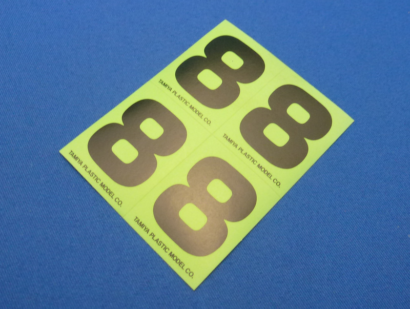 Tamiya 66548 - Number Sticker #8
