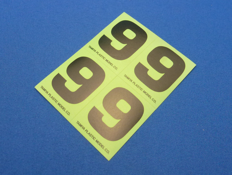 Tamiya 66549 - Number Sticker #9
