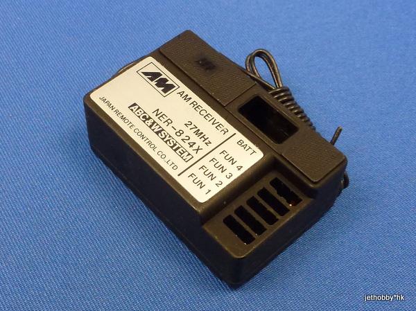 JR NER-824X - AM 27 4-Channel Receiver