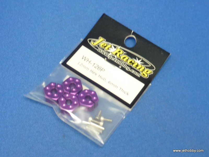 Jet Racing WH-126P - 12mm Hex Wheel Hub, 6mm Thick