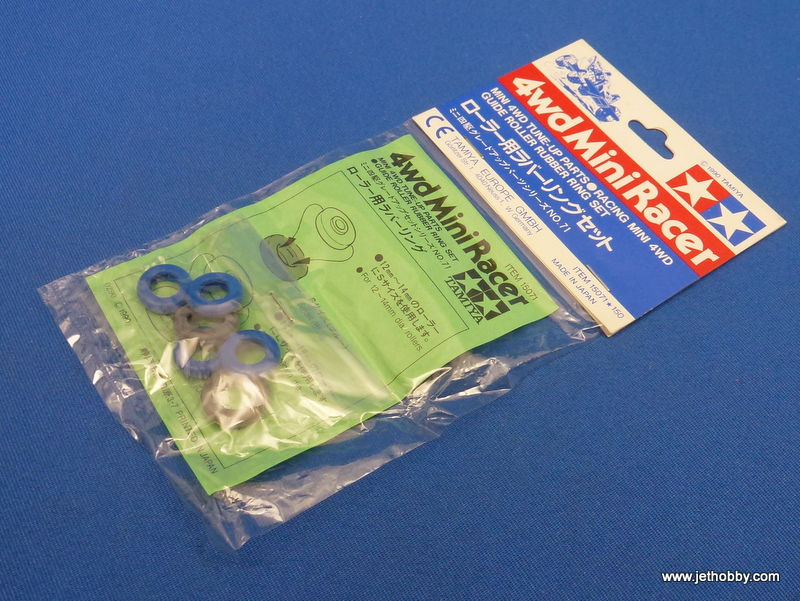 Tamiya 15071 - Racing  Mini 4WD Guide Roller Rubber Ring Set