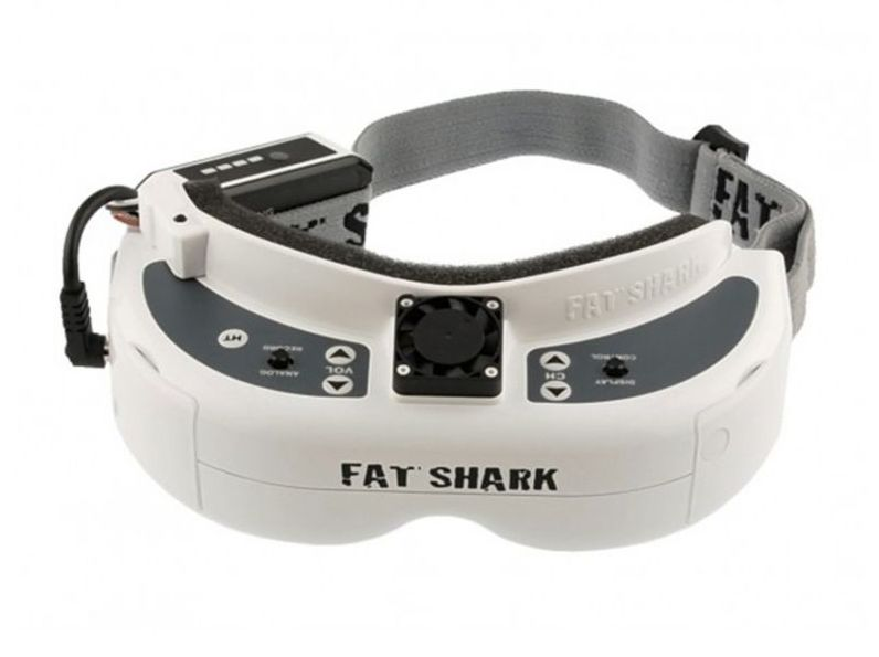 Fat Shark FSV1074 - Dominator HD V2 with Fan Equipped Faceplate
