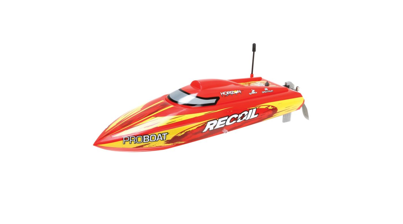 ProBoat PRB08016 - Recoil 17-inch Self-Righting Deep-V Brushless: RTR