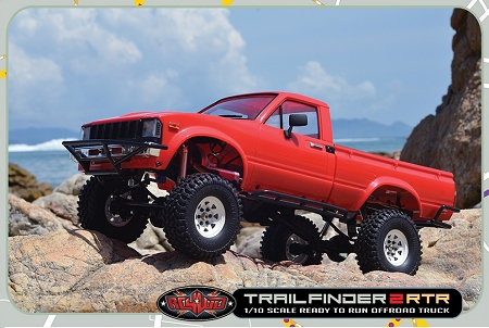 RC4WD  ZRTR0024 - Trail Finder 2 RTR w/Mojave II Body