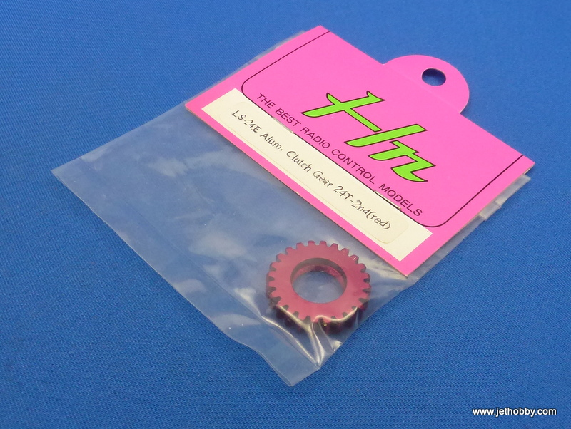 Hong Nor LS-24E - Alum. Clutch Gear 24T-2nd (Red)