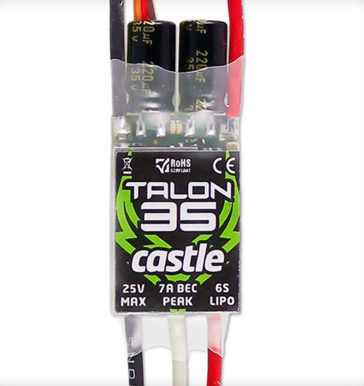 Castle 010-0122-00 - Talon 35 Helicopter ESC (270 CFX)
