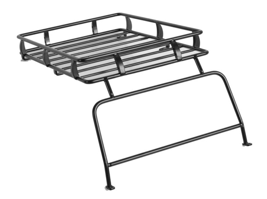 RC4WD ZX0009 - ARB Roof Rack with Window Guard (Defender D90)