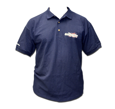 Schumacher G344L - 	Polo - Navy - Large, 100% cotton knit mens