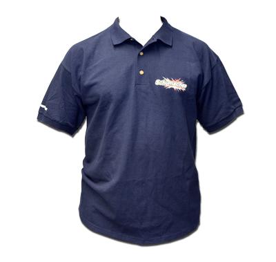 Schumacher G344L - Polo - Navy - Large, 100% cotton knit mens
