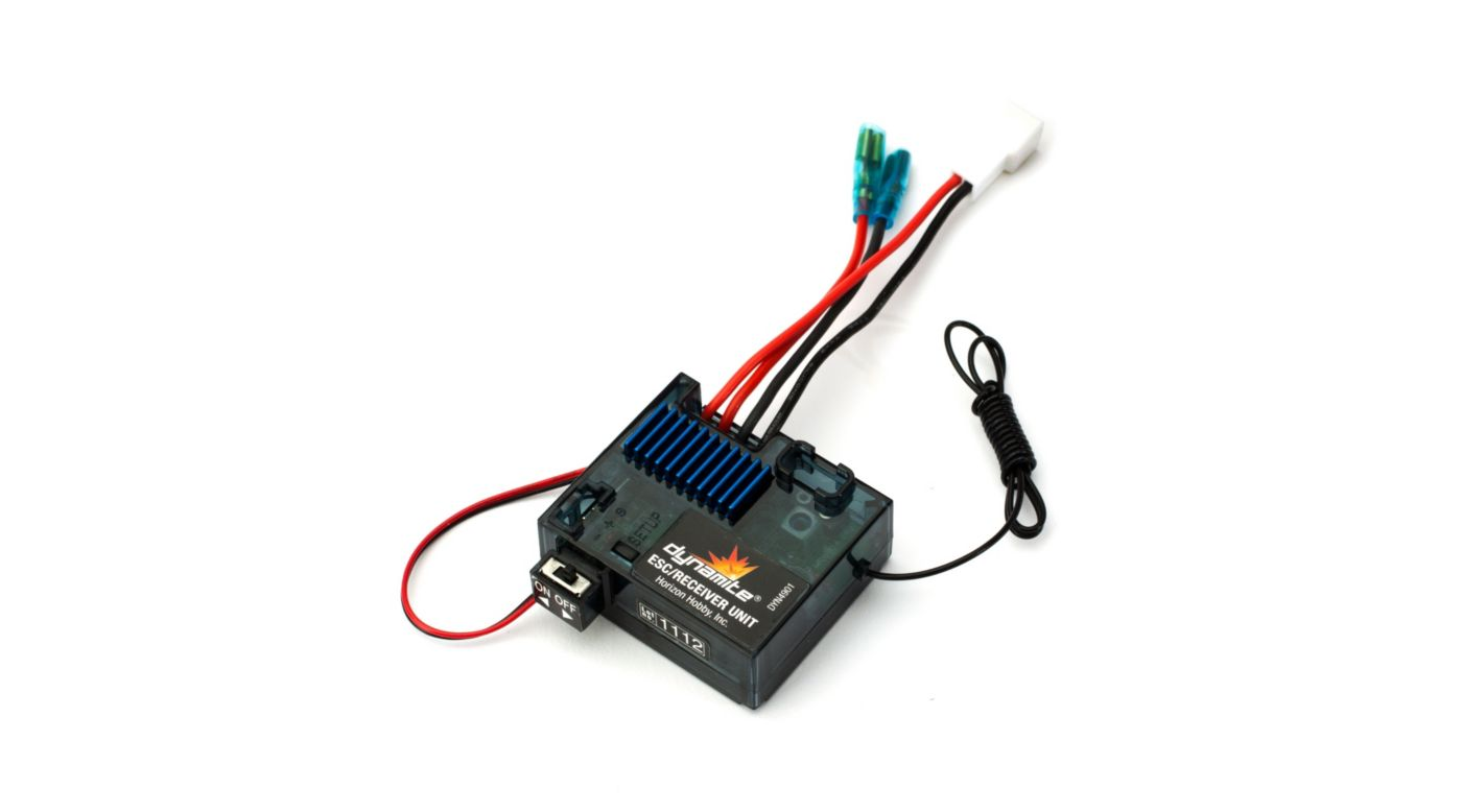 Dynamite DYN4901 - Tazer ESC/Receiver Unit (Mini Car)