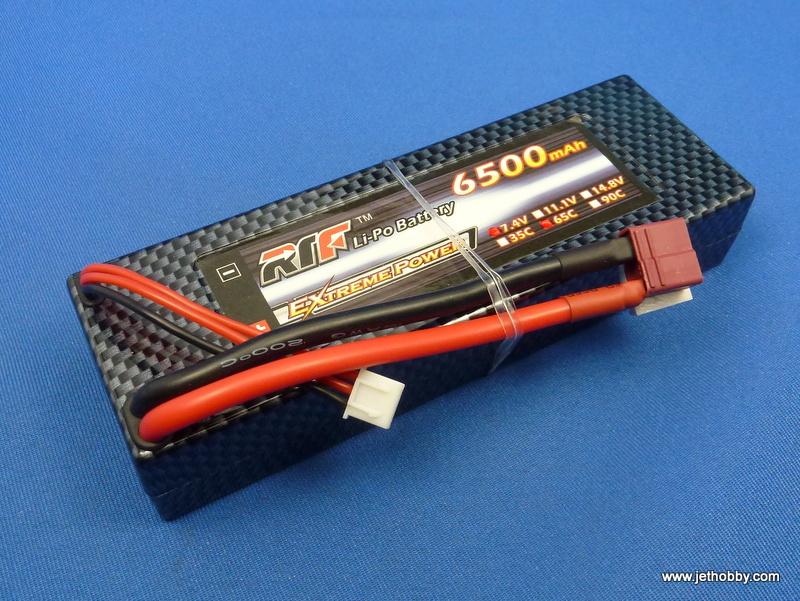 RTF 6500-2S-65C-T - Lipo Battery 6500mAh 7.4V 65C T-Plug Hard Case