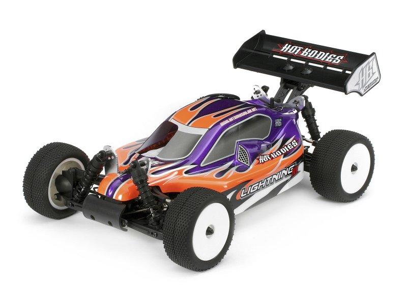 Hot Bodies 66709 - Lightning 10 Buggy Clear Body
