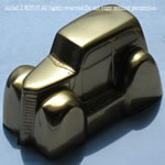 Alclad 122 - High Shine - Mirrored Gold for Lexan*