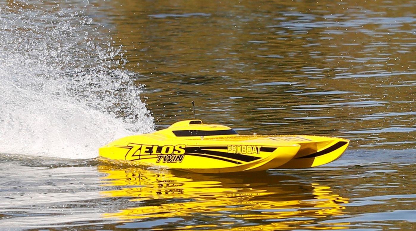 ProBoat PRB08021 - Zelos™ 36 Twin Catamaran BL RTR