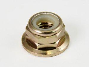 Team Infinity HDR-410T - M4 Aluminum Flange Lock Nuts, Titanium