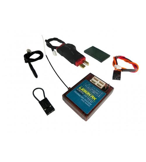 Lemon LM0029 - Lemon Rx DSMX Compatiable (DSM2 Compatible) Full Range Telemetry System (T-Plug Package)