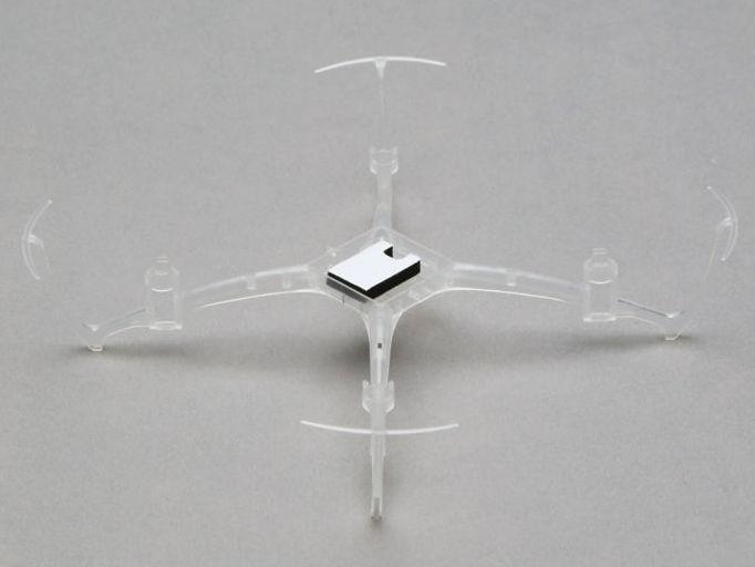 Blade BLH7207 - Main Frame Clear (Nano QX)