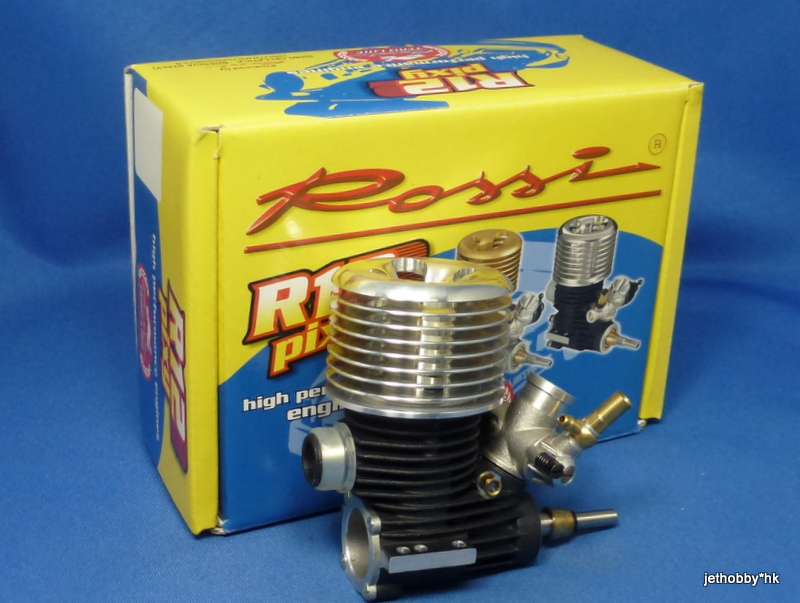 Rossi 138R12 - R12 On-Toad Engine Black 3-Port